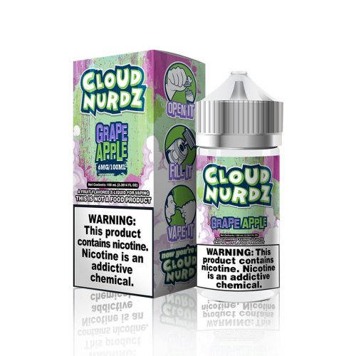 Grape Apple by Cloud Nurdz E Liquid – 100ml - VAPE VENDOR