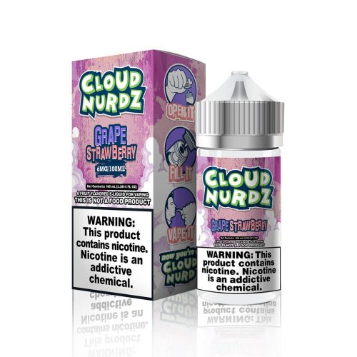 Strawberry Grape by Cloud Nurdz E Liquid – 100ml - VAPE VENDOR