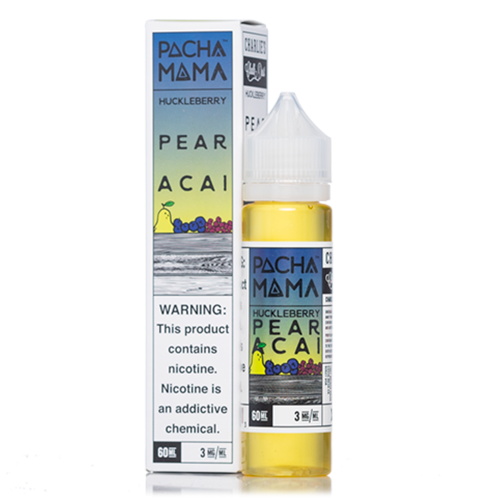 Huckleberry Pear Acai – PACHAMAMA E-LIQUID – 60ML - VAPE VENDOR