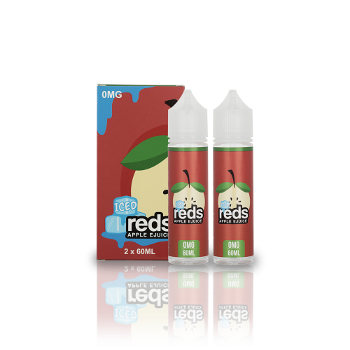 APPLE ICED – REDS E-JUICE   60ML/120ML - VAPE VENDOR