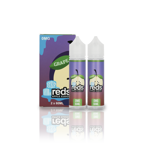 Red's Grape ICED – REDS E-JUICE   60ML/120ML - VAPE VENDOR