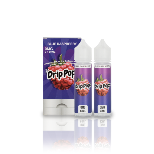 BLUE RASPBERRY DRIP POPS  60ML/120ML - VAPE VENDOR